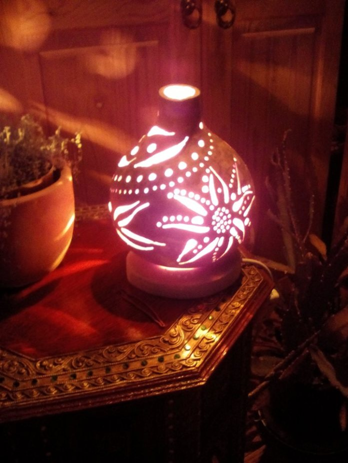 Lamps and pumpking boxes