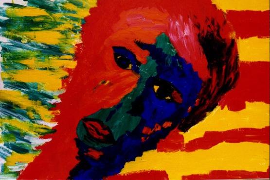 self-portret, not avilable